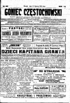 Goniec Częstochowski, 1914, R. 9, No 163