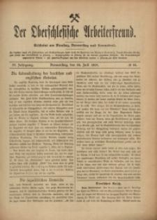 Der Oberschlesische Arbeiterfreund, 1908/1909, Jg. 9, No 44