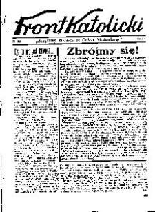 Front Katolicki, [1939], R. 3, nr 33