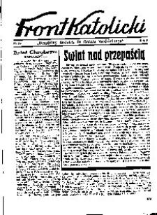 Front Katolicki, [1939], R. 3, nr 34