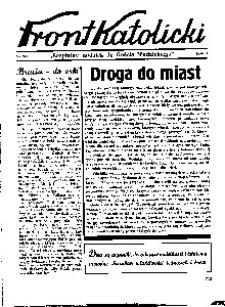 Front Katolicki, [1939], R. 3, nr 36