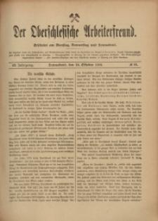 Der Oberschlesische Arbeiterfreund, 1908/1909, Jg. 9, No 81