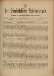 Der Oberschlesische Arbeiterfreund, 1908/1909, Jg. 9, No 83