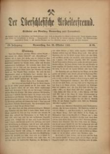 Der Oberschlesische Arbeiterfreund, 1908/1909, Jg. 9, No 89