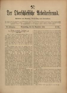 Der Oberschlesische Arbeiterfreund, 1908/1909, Jg. 9, No 115