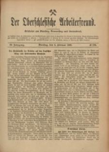 Der Oberschlesische Arbeiterfreund, 1908/1909, Jg. 9, No 129