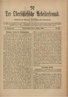 Der Oberschlesische Arbeiterfreund, 1908/1909, Jg. 9, No 142
