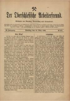 Der Oberschlesische Arbeiterfreund, 1908/1909, Jg. 9, No 147