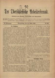 Der Oberschlesische Arbeiterfreund, 1908/1909, Jg. 9, No 148