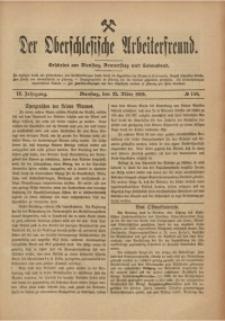 Der Oberschlesische Arbeiterfreund, 1908/1909, Jg. 9, No 150