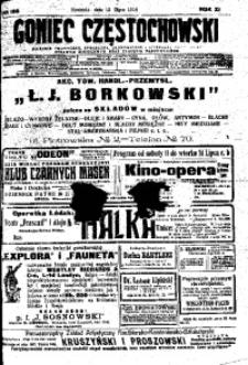 Goniec Częstochowski, 1914, R. 11, No 188