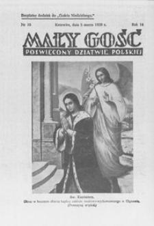 Mały Gość, 1939, R. 14, nr 10