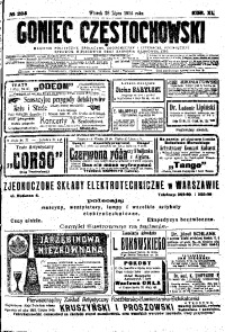 Goniec Częstochowski, 1914, R. 11, No 204