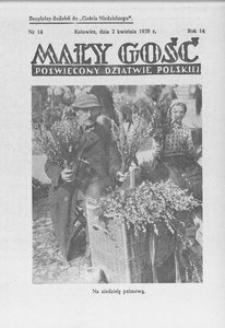 Mały Gość, 1939, R. 14, nr 14