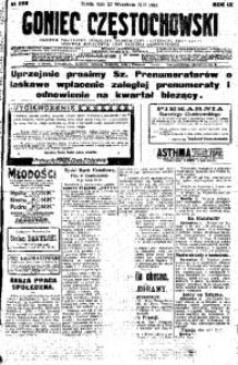 Goniec Częstochowski, 1914, R. 11, No 266