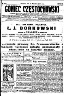 Goniec Częstochowski, 1914, R. 11, No 270
