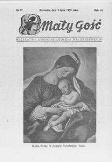 Mały Gość, 1939, R. 14, nr 27