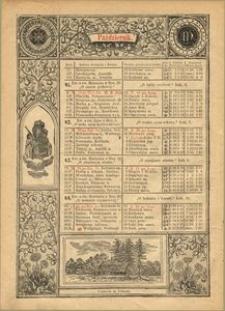 Kalendarz Maryański na Rok Przestępny 1896. [R. 13]