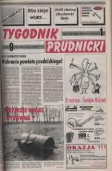 Tygodnik Prudnicki : gazeta powiatowa : Prudnik, Biała, Korfantów, Głogówek, Lubrza. R. 9, nr 9 (380).