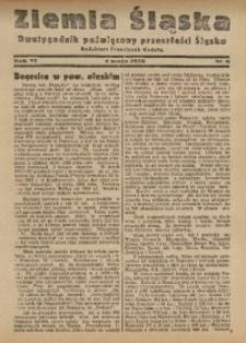 Ziemia Śląska, 1932, R. 6, nr 6