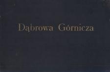 Dąbrowa Górnicza. Widoki miasta sprzed I wojny światowej (okładka)