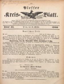 Plesser Kreis-Blatt, 1903, St. 44