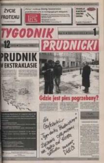 Tygodnik Prudnicki : gazeta powiatowa : Prudnik, Biała, Korfantów, Głogówek, Lubrza. R. 9, nr 12 (383).