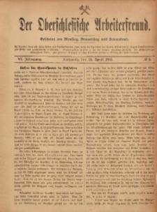 Der Oberschlesische Arbeiterfreund, 1905/1906, Jg. 6, No 5