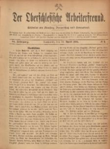 Der Oberschlesische Arbeiterfreund, 1905/1906, Jg. 6, No 6