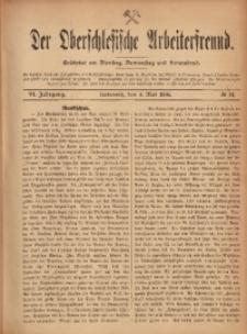 Der Oberschlesische Arbeiterfreund, 1905/1906, Jg. 6, No 14