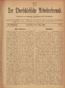 Der Oberschlesische Arbeiterfreund, 1905/1906, Jg. 6, No 15