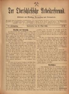 Der Oberschlesische Arbeiterfreund, 1905/1906, Jg. 6, No 23