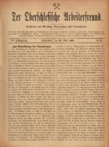 Der Oberschlesische Arbeiterfreund, 1905/1906, Jg. 6, No 25