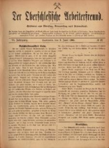 Der Oberschlesische Arbeiterfreund, 1905/1906, Jg. 6, No 27