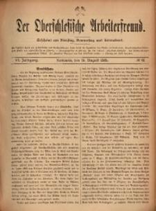 Der Oberschlesische Arbeiterfreund, 1905/1906, Jg. 6, No 61