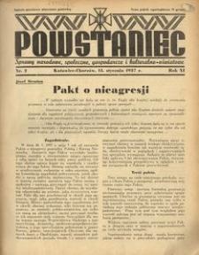 Powstaniec, 1937, R. 11, nr 2