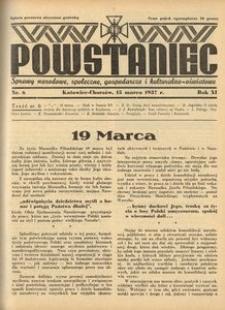 Powstaniec, 1937, R. 11, nr 6