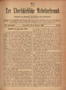 Der Oberschlesische Arbeiterfreund, 1905/1906, Jg. 6, No 118