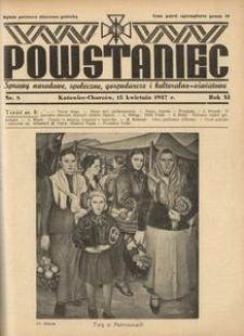 Powstaniec, 1937, R. 11, nr 8