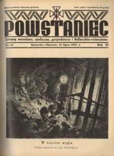 Powstaniec, 1937, R. 11, nr 14