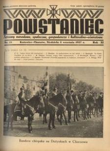 Powstaniec, 1937, R. 11, nr 18