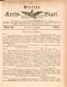 Plesser Kreis-Blatt, 1905, St. 34