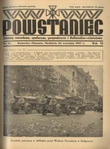 Powstaniec, 1937, R. 11, nr 21