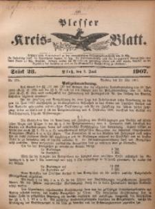 Plesser Kreis-Blatt, 1907, St. 23