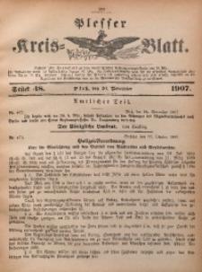 Plesser Kreis-Blatt, 1907, St. 48