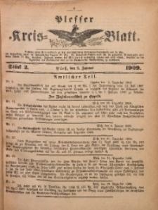 Plesser Kreis-Blatt, 1909, St. 2