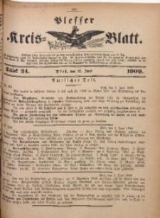 Plesser Kreis-Blatt, 1909, St. 24