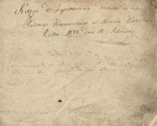 Księga cechowa krawców w mieście Woźniki z lat 1822-1885