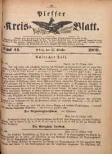 Plesser Kreis-Blatt, 1909, St. 44