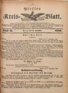 Plesser Kreis-Blatt, 1909, St. 51